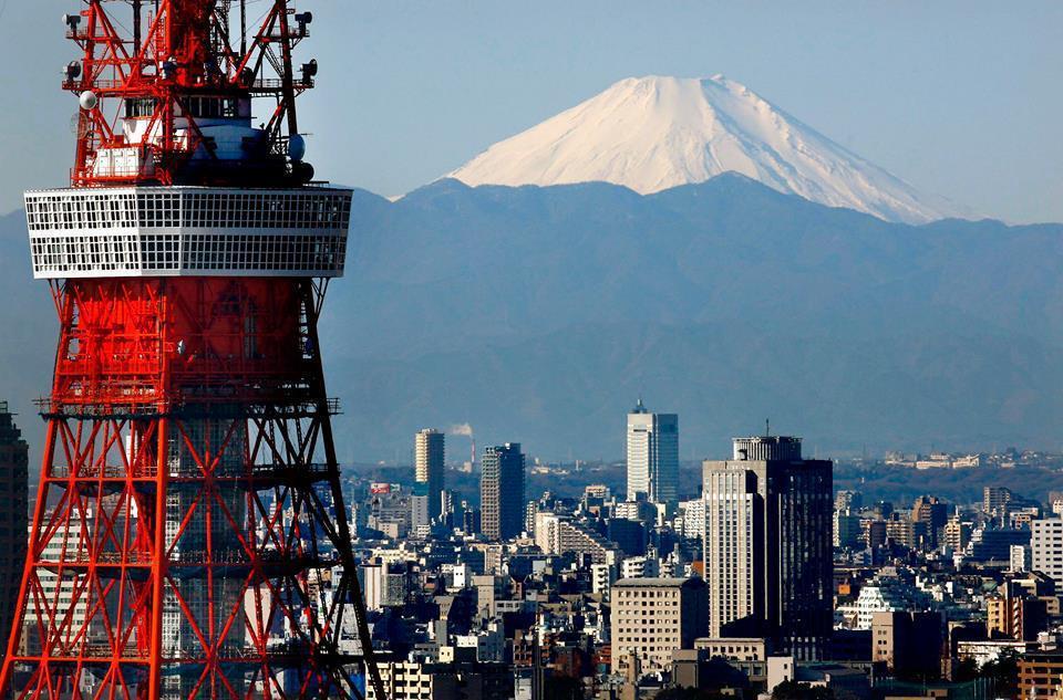 東京鐵塔已然成為日本人的集體記憶。圖/美聯社
