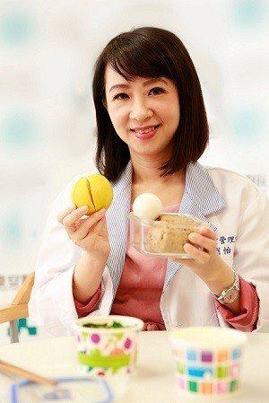 營養師劉怡里認為吃早餐是養生保健的重要準則之一。(攝影/楊智仁)