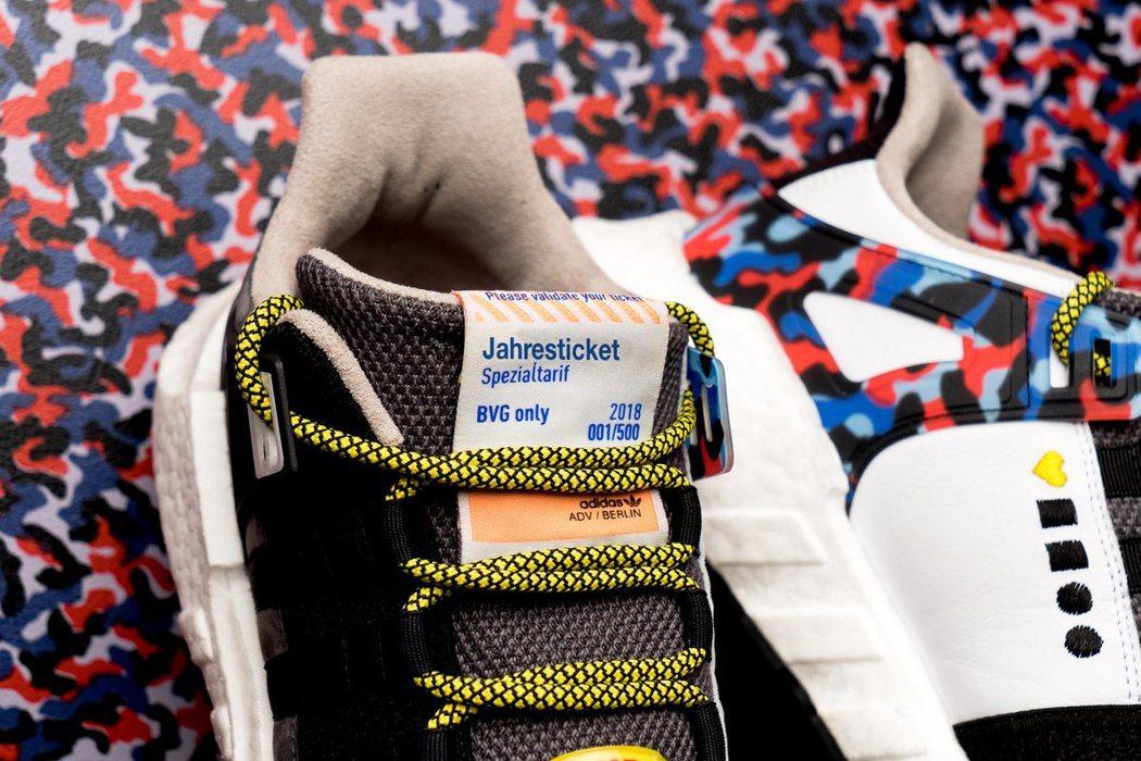 柏林公共運輸公司和愛迪達推出「年票鞋」,穿這雙鞋可免費搭柏林地鐵一整年。BVG官...