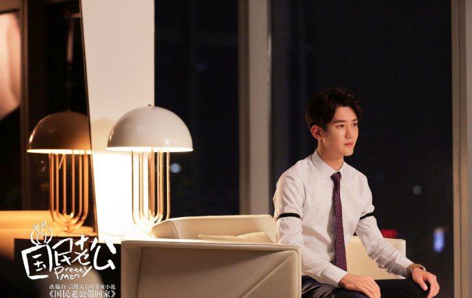 熊梓淇詮釋高冷富帥的角色。圖/CHOCO TV提供