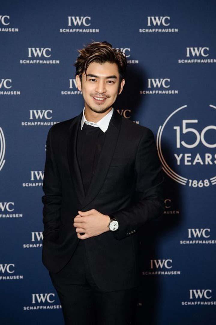 陳柏霖出席IWC 150週年晚會。圖/萬國表提供