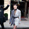 Bella Hadid曬性感新招 把「上班的男友」穿上身
