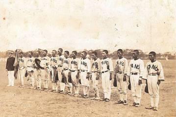 嘉義農林棒球隊。攝自1928年。 圖/維基共享