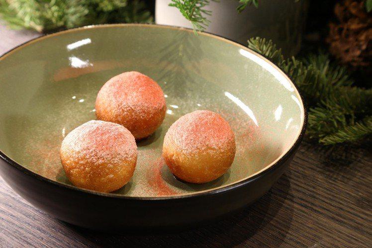 鵝肝甜甜圈。記者陳立凱/攝影