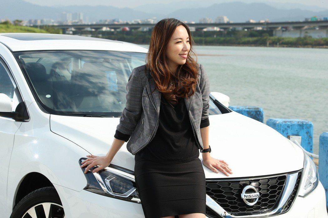 御姐愛認為選車種外型,但要符合自己的質感和個性 記者陳立凱/攝影