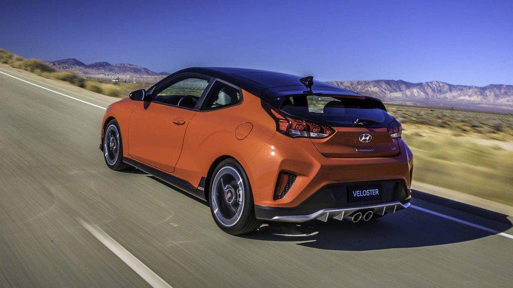 全新Hyundai Veloster。 摘自Hyundai