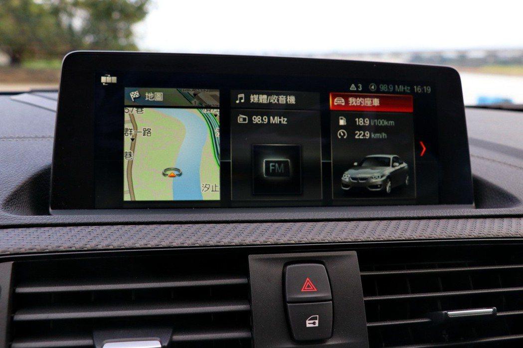 更直覺式的圖像化顯示介面BMW iDrive 6.0系統以及8.8吋iDrive...