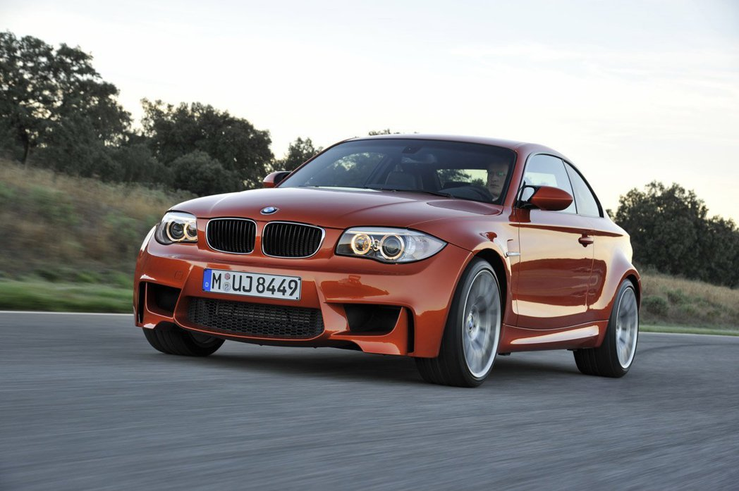 2011年BMW曾發表1系列Coupe車型1 Series M Coupe。 圖/BMW提供