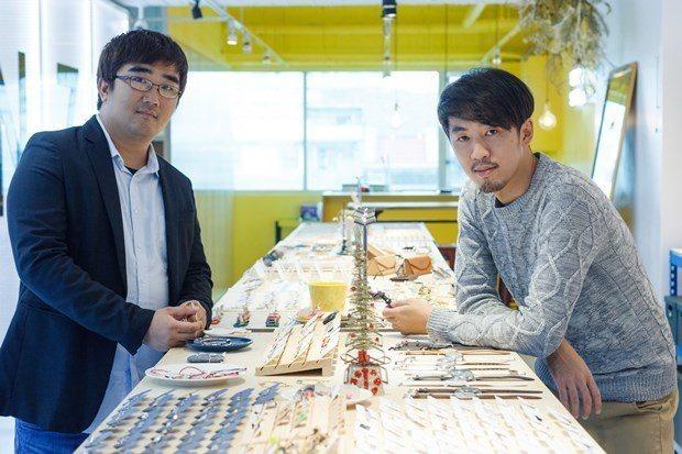 Vacanza總經理徐亦知及專案經理許敦彥(左)堅持在東南亞打MIT優勢。 邱劍...