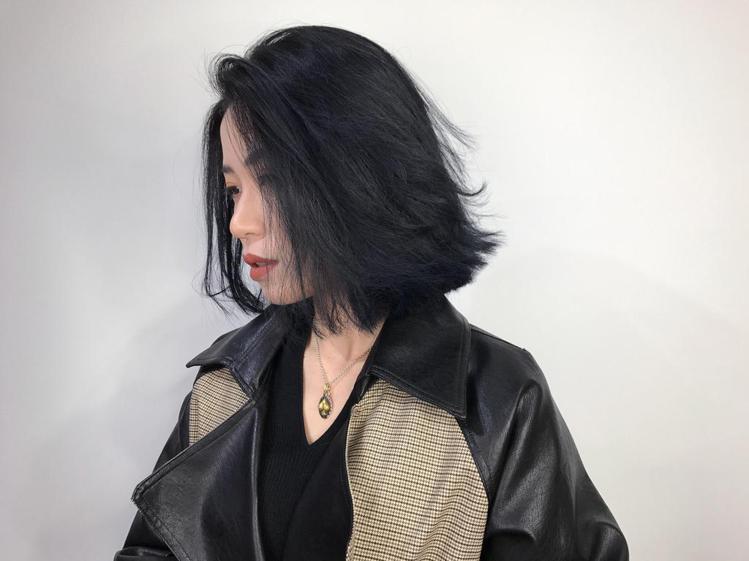 髮型創作/ Iris艾瑞絲《曼萱》。圖/HairMap美髮地圖提供