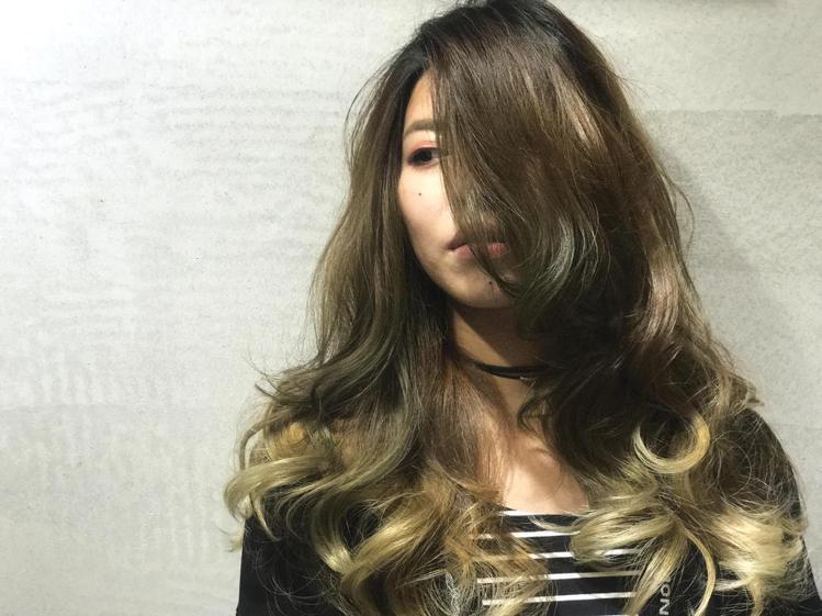 髮型創作/緯震(Eric) 。圖/HairMap美髮地圖提供