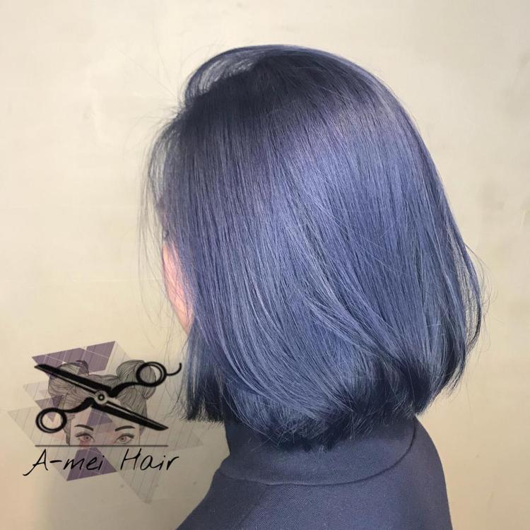 髮型創作/A-mei。圖/HairMap美髮地圖提供