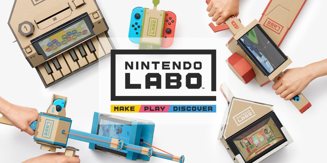 任天堂遊戲機Switch推出結合紙箱勞作的新玩法,讓玩家和投資人驚艷。 圖/擷自...