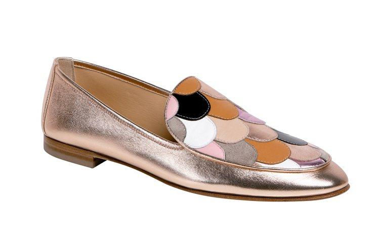 Blushy平底鞋,售價17,100元。圖/Longchamp提供