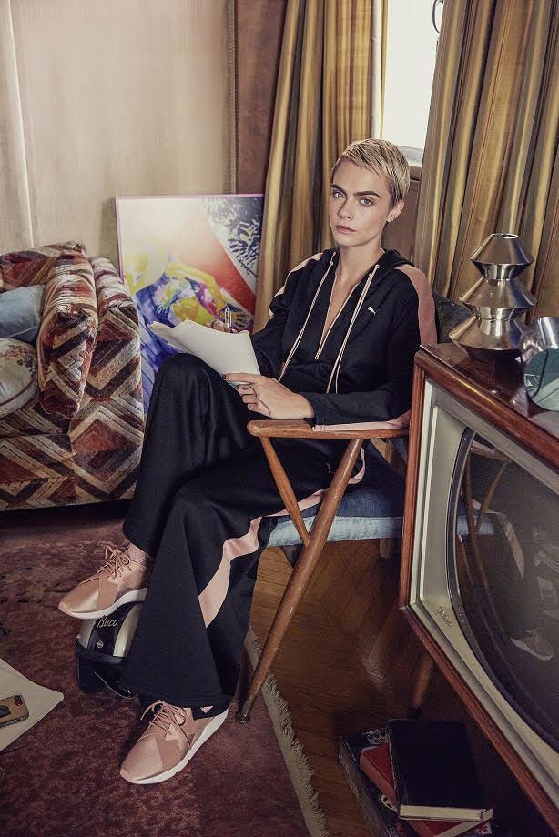 PUMA全球女力大使Cara Delevingne詮釋PUMA MUSE全新鞋款...