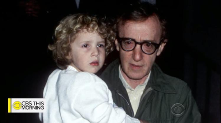 伍迪艾倫被控對才7歲的蒂倫逞獸慾。圖/摘自CBS