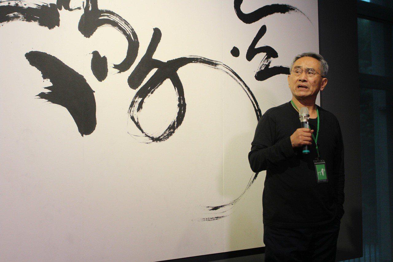 林懷民在雲門春茶記者會上表示,他還沒老,還要繼續打拚。 記者陳宛茜/攝影