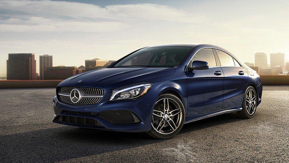 現行版CLA。 Mercedes-Benz提供