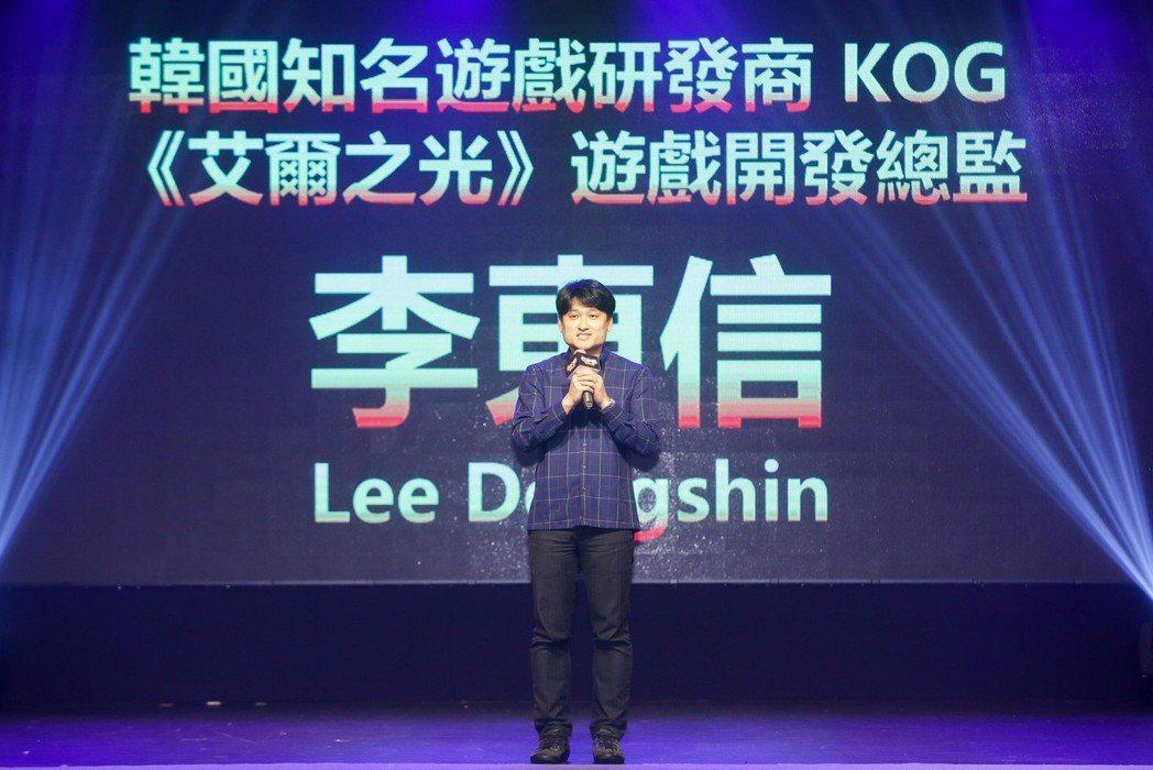 韓國知名遊戲研發商 KOG《艾爾之光》遊戲開發總監 李東信 Lee Dongsh...