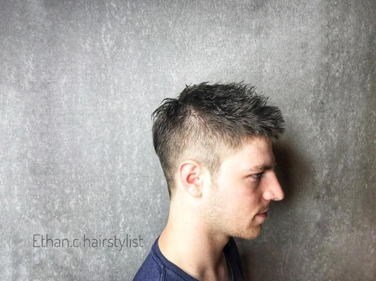 髮型創作/Ethan Chang。圖/HairMap美髮地圖提供