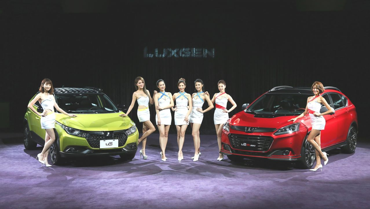 LUXGEN電動車即將曝光。 經濟日報記者陳志光攝影
