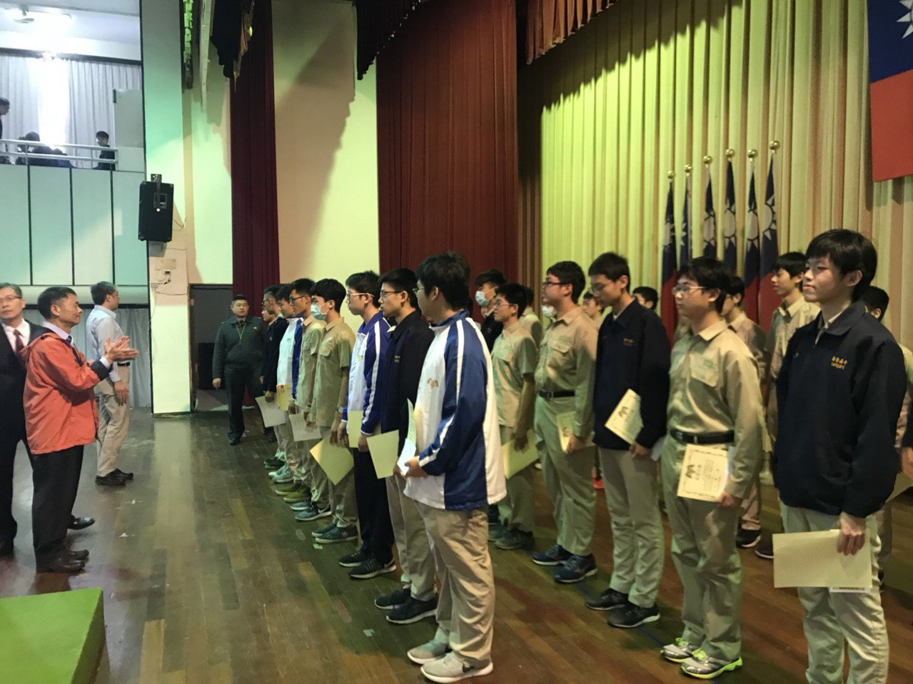 新竹高中未來將以每月一個的月會形式進行朝會,並在大禮堂舉行。圖/新竹高中提供