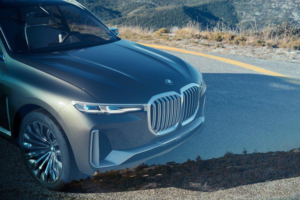 BMW X7 Concept。 摘自BMW