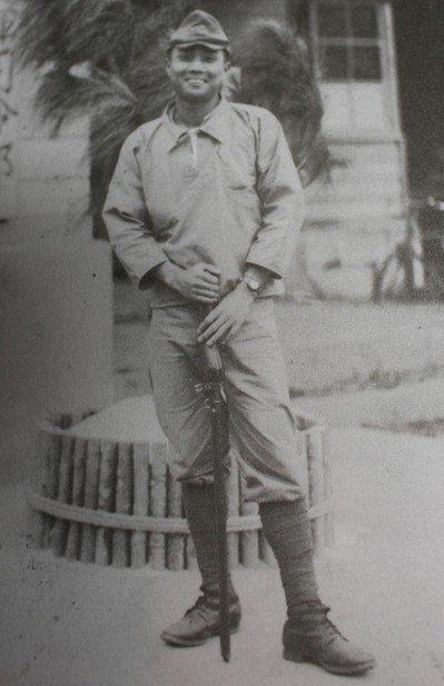 20歲的張子涇攝於海南島。 圖/遠足文化提供