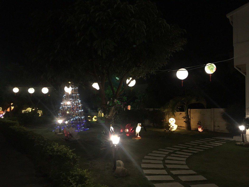 六三公園燈區。圖/許開興提供