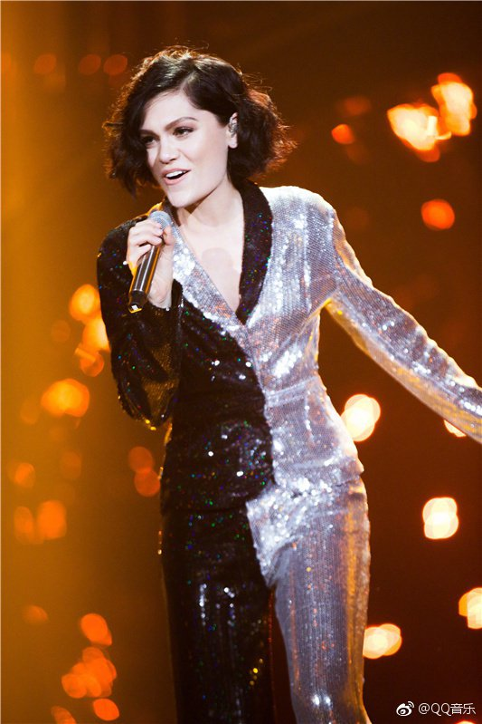 Jessie J在「歌手」表現驚人。圖/摘自微博