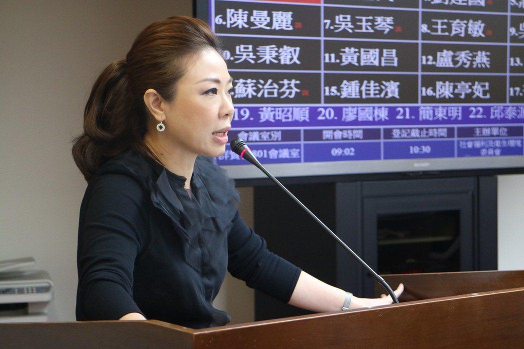 國民黨團副書記長李彥秀說,若與其他政黨公投案想法一致,當然有合作空間。 圖/聯合...