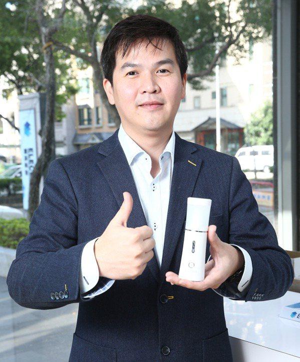 創淨科技總經理陳建宏