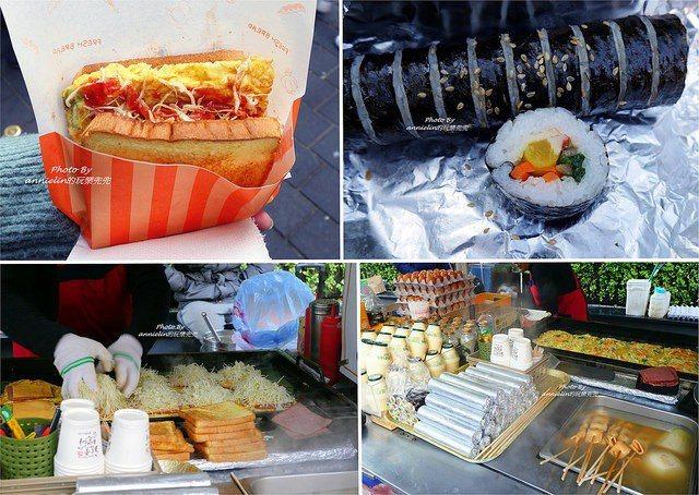 比起Isaac,早餐車的三明治也很厲害,還有紫菜飯捲和魚糕可以選!