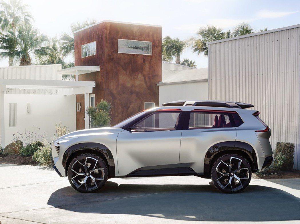 外型設計十分粗獷,輪胎搭載21吋造型鋁圈。 圖片來源:Nissan