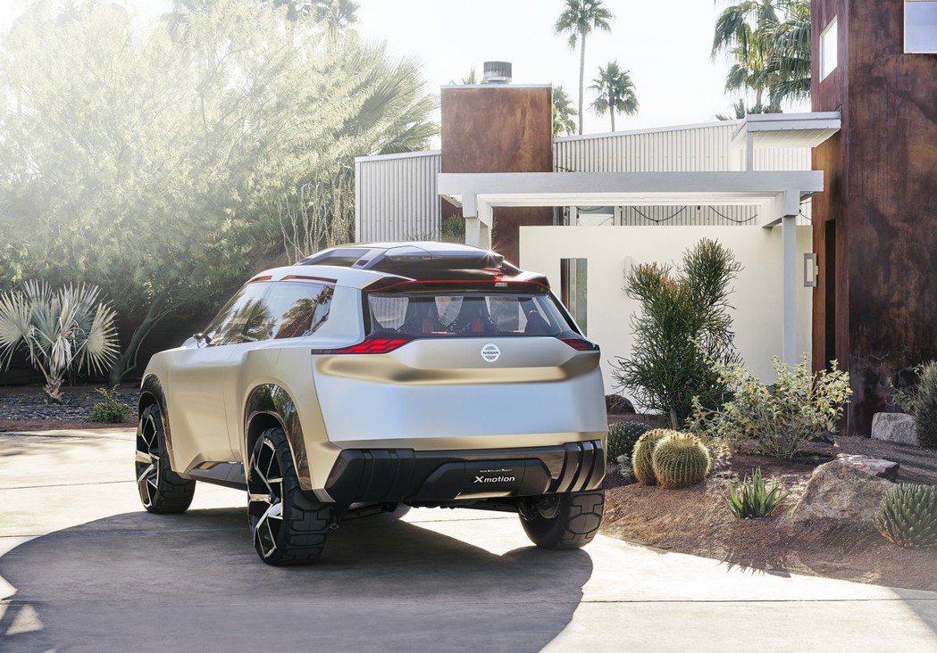 Xmotion Concept將搭載ProPilot自動駕駛輔助科技,以及Flo...