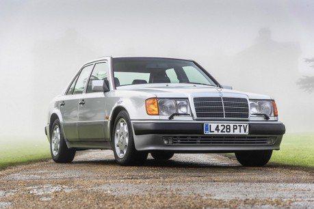 一輛Mercedes-Benz 500E待售 前車主大有來頭