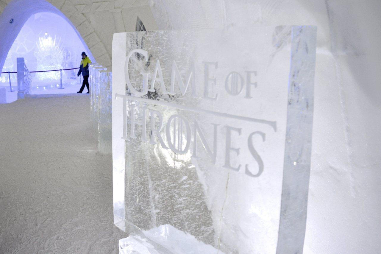 芬蘭拉普蘭飯店與HBO「權力遊戲」合作打造主題冰雪旅館,開放營業到4月。美聯