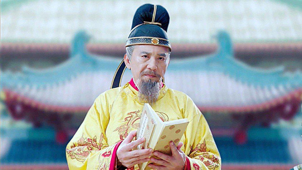 秦漢在「大唐榮耀」中飾演唐玄宗。圖/東森戲劇台提供