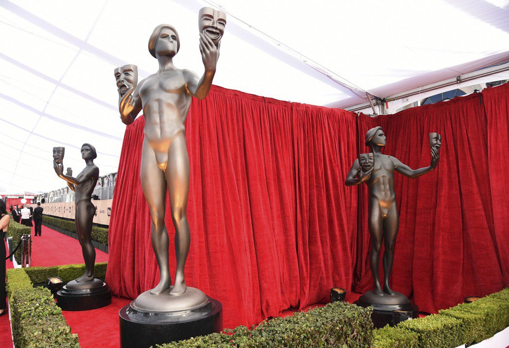 第24屆美國演員工會獎(SAG)頒獎典禮今天在加州洛杉磯舉行。 圖/美聯社