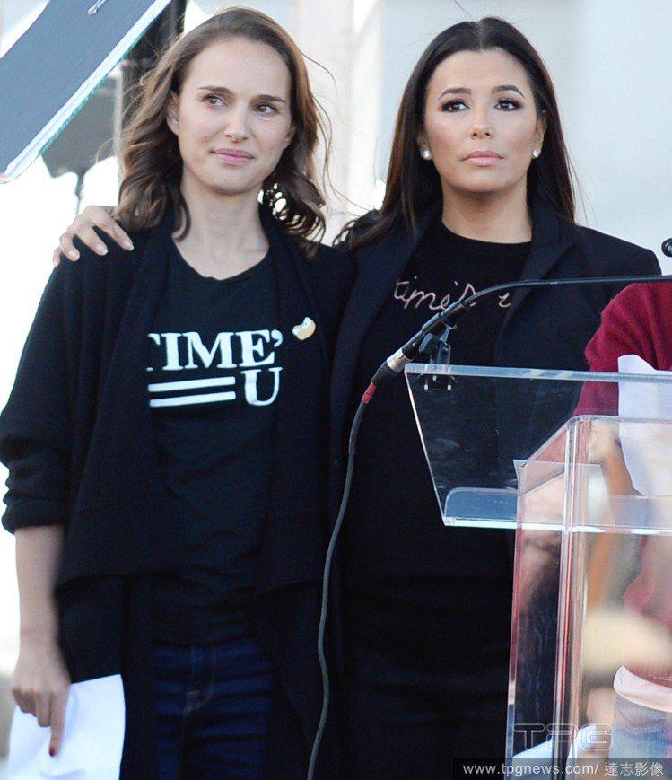 娜塔莉波曼(左)。圖/達志影像