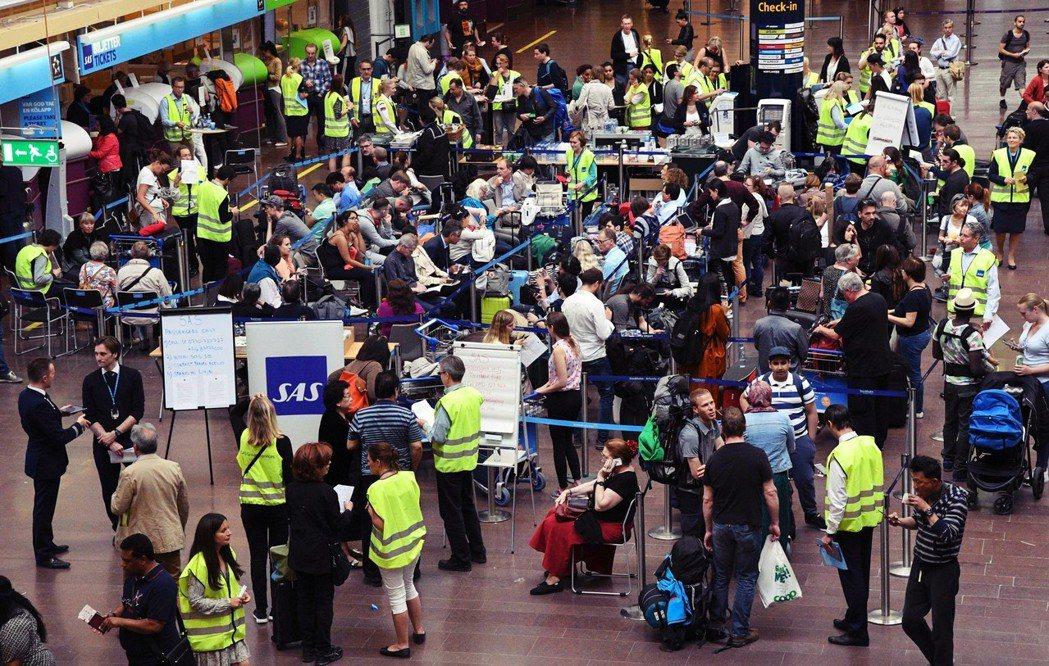 瑞典最近一次大規模的罷工,是由機師所發起。 圖/歐新社