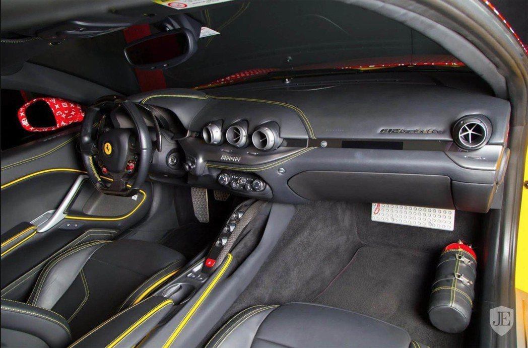 F12 Berlinetta Supreme-LV內裝。 摘自carscoops