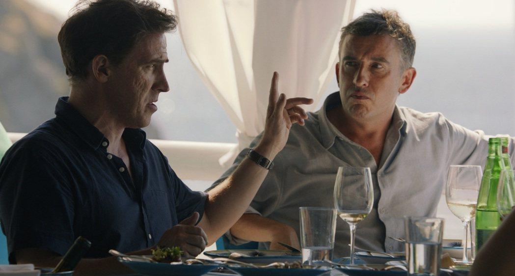 「享受吧!尋味義大利」享受義大利美食,兩位主角的唇槍舌劍也是一大看點。圖/安可提
