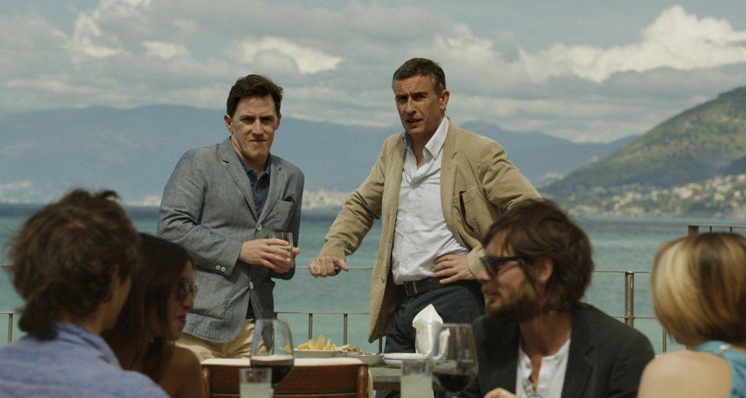 「享受吧!尋味義大利」享受義大利美食,兩位主角的唇槍舌劍也是一大看點。圖/安可提...