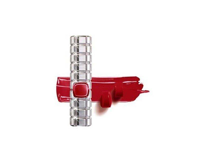 巴黎萊雅絕對情迷鏡面唇膏「#908袖口唇印」是訂製正紅色系,售價420元。圖/巴...