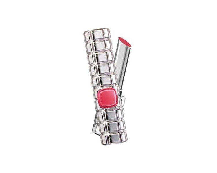 巴黎萊雅絕對情迷鏡面唇膏主打色「#911鎂光燈聚焦」是MLBB玫瑰色系,售價42...