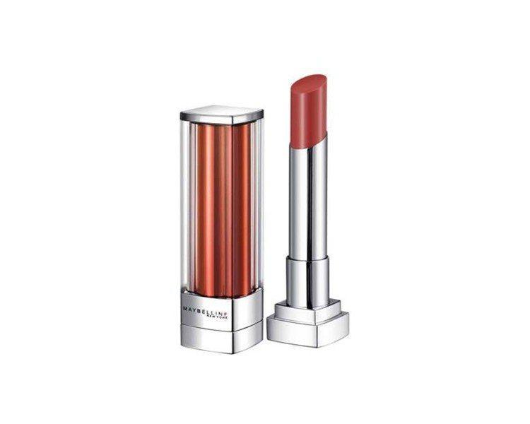 媚比琳琉璃誘光精油唇膏「#13丹櫻吹雪」,售價399元。圖/媚比琳提供