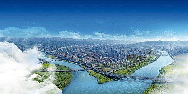 江子翠重劃區擁有5700米的水岸線,是大台北九大重劃區中,唯一親水岸重劃區,未來...