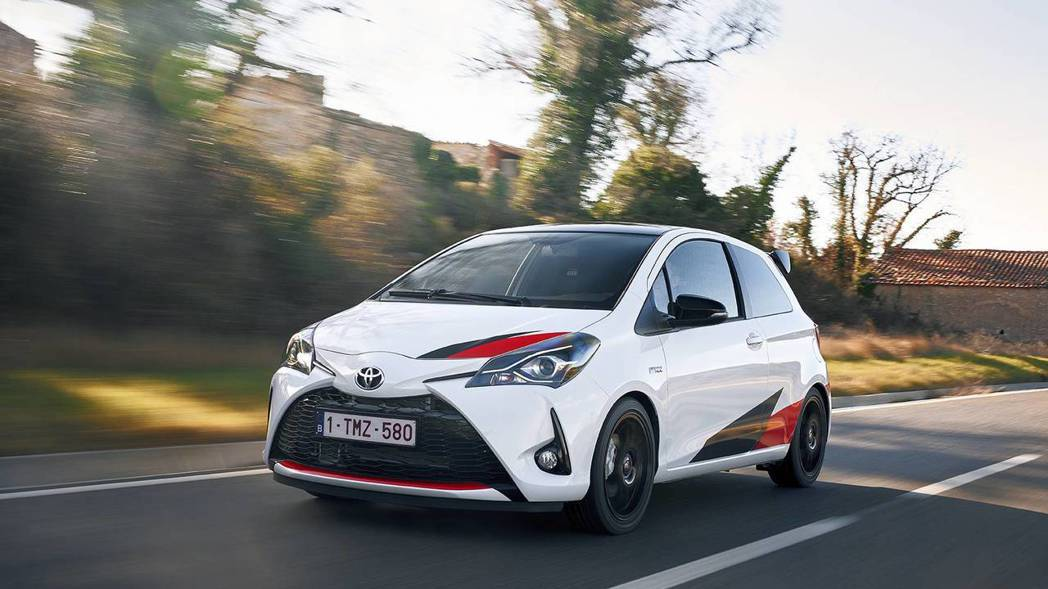 Toyota Yaris GRMN。 摘自Toyota
