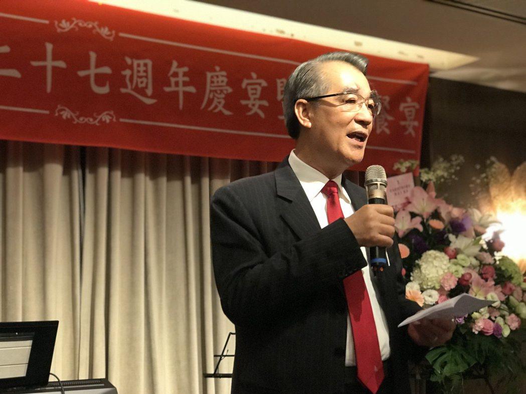 皇苑建設董事長郭敏能宣布,年終獎金6個月。 攝影/張世雅
